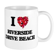 I love Riverside Drive Beach Wisconsin Mugs