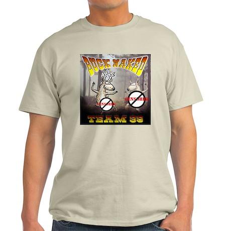 """'Team 39 """"Buck Naked """" Light T-Shirt"""