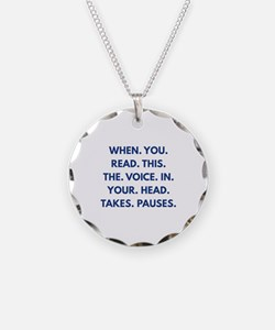 When You Read This Necklace