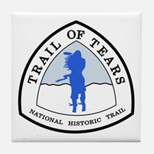 Trail of Tears National Trail Tile Coaster