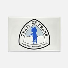 Trail of Tears National Trail Rectangle Magnet