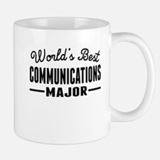 Worlds Best Communications Major Mugs