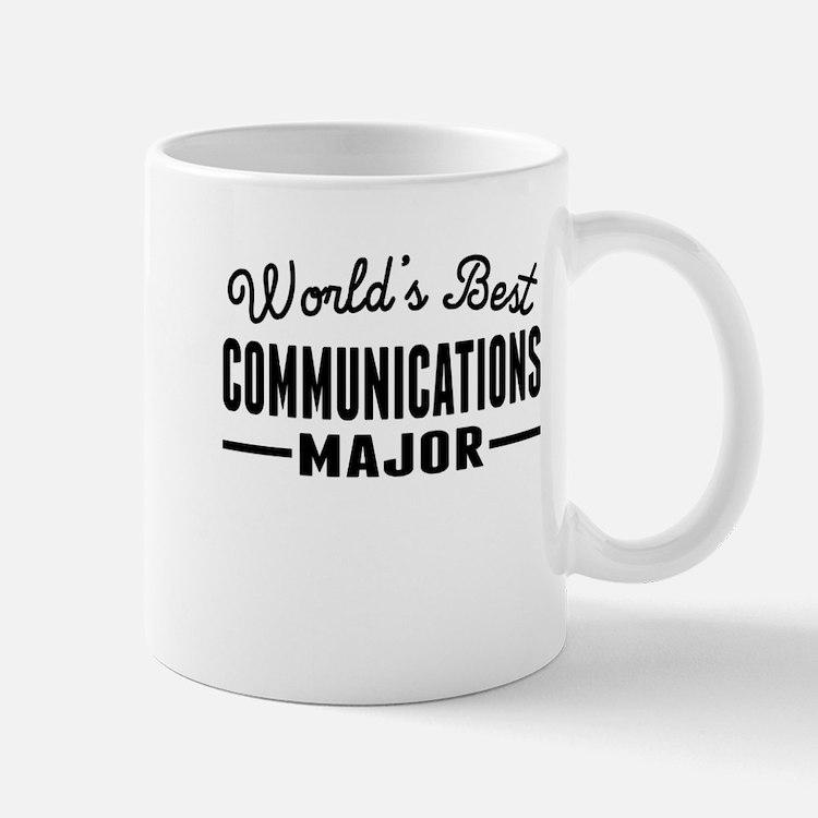 Worlds Best Communications Major Mugs