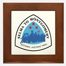 Selma to Montgomery National Trail, Al Framed Tile