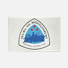 Selma to Montgomery National Trai Rectangle Magnet