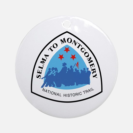 Selma to Montgomery National Trail, Round Ornament