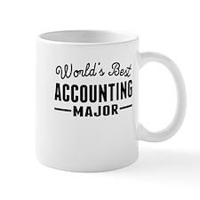 Worlds Best Accounting Major Mugs