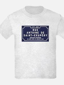 Rue Antoine de Saint-Exupery, L T-Shirt