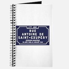 Rue Antoine de Saint-Exupery, Lyon, France Journal