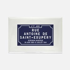Rue Antoine de Saint-Exupery, Lyo Rectangle Magnet
