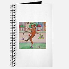 Shopping Sock Monkey Journal