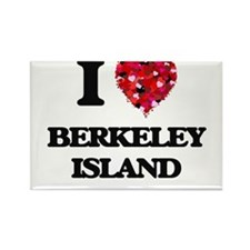 I love Berkeley Island New Jersey Magnets
