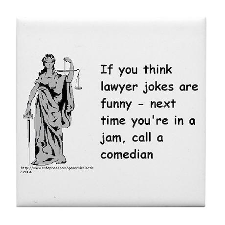 Lawyers Tile Coaster