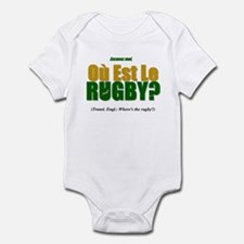 Rugby World Cup Springboks Infant Bodysuit