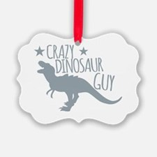 Cute Barney dinosaur Ornament
