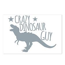 Cute Barney dinosaur Postcards (Package of 8)