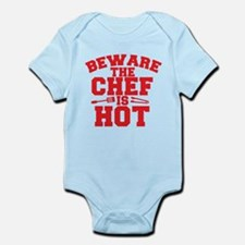 BEWARE THE CHEF IS HOT! Body Suit