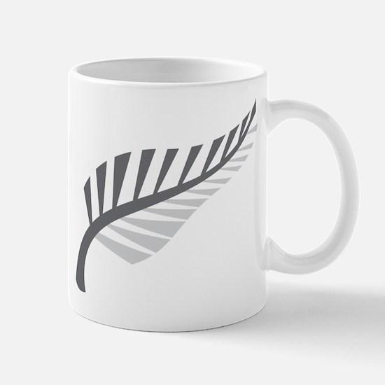 Silver Fern Kiwi New Zealand Mugs