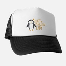 Crazy Penguin Lady Cap