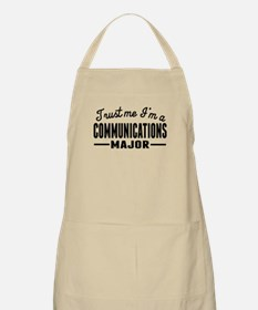 Trust Me Im A Communications Major Apron