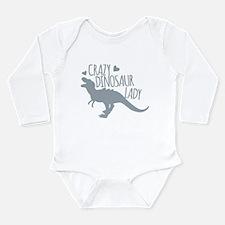 Crazy Dinosaur Lady Body Suit
