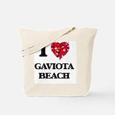 I love Gaviota Beach California Tote Bag