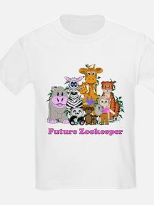 Future Zookeeper Girl T-Shirt
