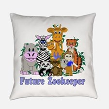 Future Zookeeper Everyday Pillow