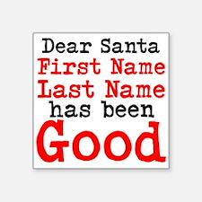 Dear Santa Sticker