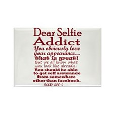 Selfie Addict Magnets