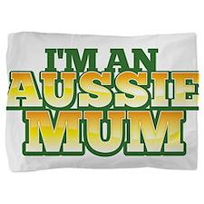 I'm an Aussie MUM with Australian map Pillow Sham