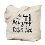 41st birthday Canvas Totes