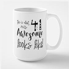 Awesome 41 Years Old Mug