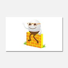 Humpty Dumpty super cute on a w Car Magnet 20 x 12