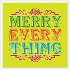 Merry Everything Flat Cards / Invites Invitations