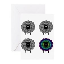 Cute Knitter Greeting Cards (Pk of 20)