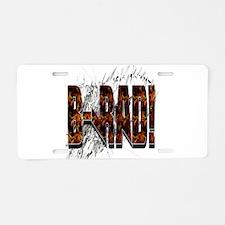 Brad/ B-Rad Aluminum License Plate