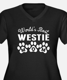 Worlds Best Westie Mom Plus Size T-Shirt