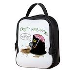 Monster in the Darkness Neoprene Lunch Bag