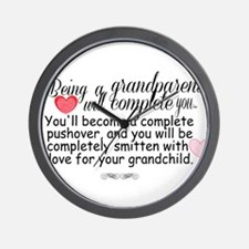 being a grandparent Wall Clock