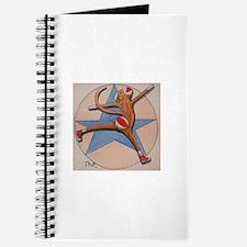 Sneaker Sock Monkey Journal