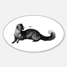 Mink Oval Decal