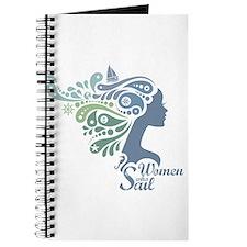 Woman Who Sail Logo Journal