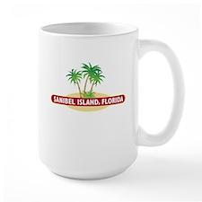 Sanibel Island Palms - Mug
