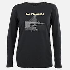 San Francisco Plus Size Long Sleeve Tee