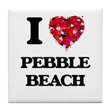 I love Pebble Beach California Tile Coaster