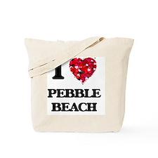 I love Pebble Beach California Tote Bag
