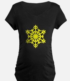 Yellow Snowflake T-Shirt