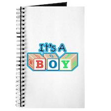 It's a Boy announcement Journal