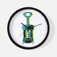 corkscrew Wall Clock